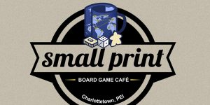 Small Print Board Game Café