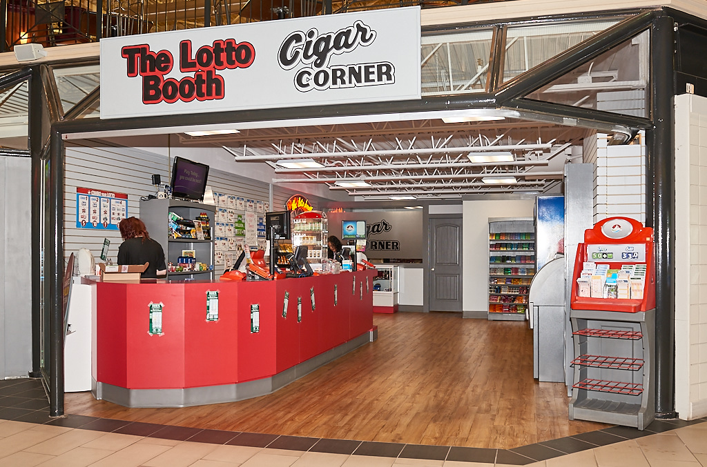 The Lotto Booth & Cigar Corner, Confederation Court Mall