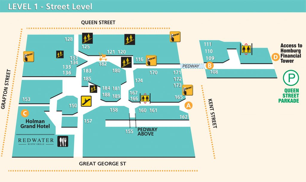 map of level 1