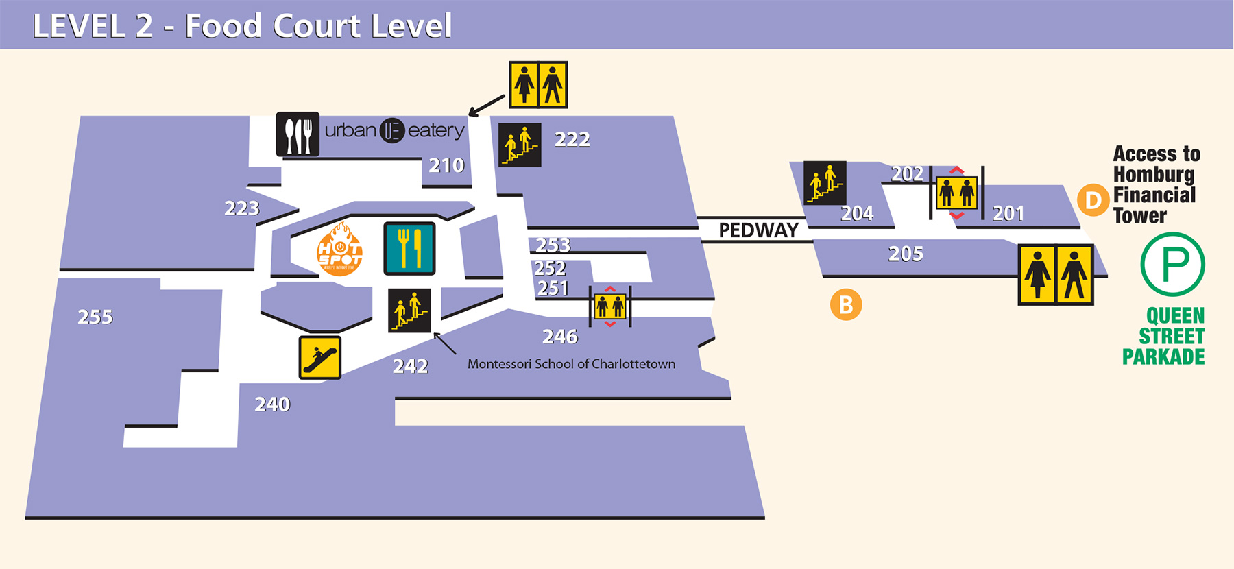 map of level 2