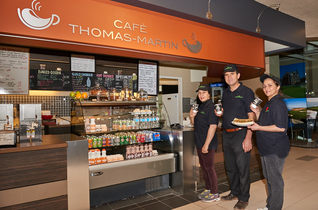 Café Thomas Martin, Confederation Court Mall